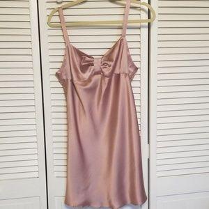 Victoria's secret nightgown. Champagne satin. Sz m